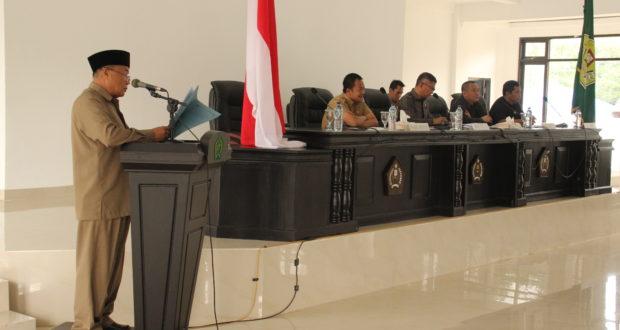 DPRD Konawe Tetapkan Anggotoa Menjadi Kecamatan Definitif