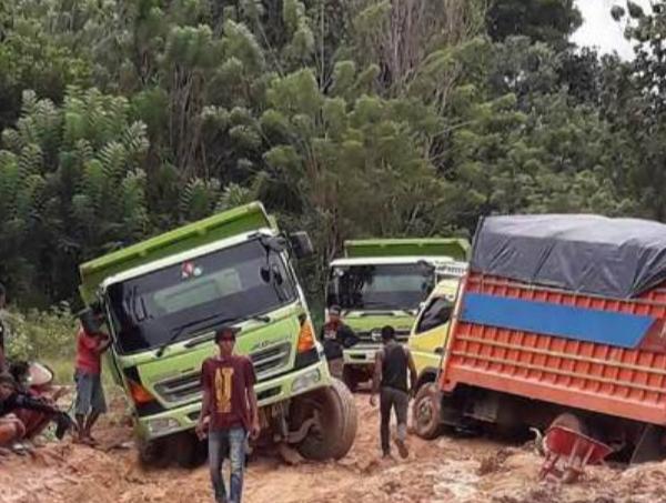 Kabupaten Konawe Utara Terancam Terisolir Dprd Konut Tuding Pelaksana Proyek Tidak Profesional Suara Sultra