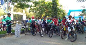 Waka Polres Konawe Lepas Ratusan Peserta Fun Bike