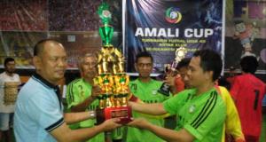 Tumbangkan Wajo FC, Amali FC Juara Futsal U-40 Antar Klub Se-Sultra