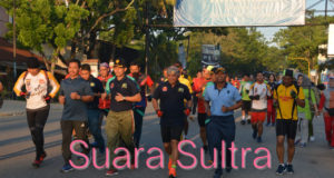Peringati HUT TNI AD, Korem 143/HO Gelar Lomba Lari 10K