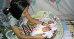 Bayi Kembar dan Ibunya Dirujuk ke RS Bahteramas, Wabup Konut Sebagai Penjamin