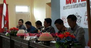 KPU Konawe Tetap DPSHP Pemilu 2019, Ini Rinciannya di 27 Kecamatan