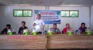 Menutup Masa Reses, Wakil Ketua DPRD Konawe Janjikan Program di Besulutu