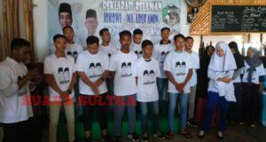 Dukung Jokowi – Ma'ruf, Jangkar Pemuda Konawe Target Menang 'Besar'