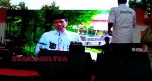 Jokowi Sapa Relawan Kendari Dengan Bahasa Tolaki