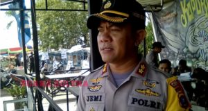 Deklarasi Relawan Jokowi-Ma'ruf di Kendari, Polri-TNI Turunkan 730 Personil