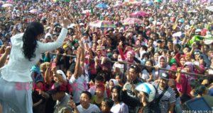 Massa Membludak, TKD Target Kemenangan Jokowi Amin 70 Persen di Konawe