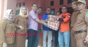 Peduli Korban Banjir, DPRD Konawe Salurkan Bantuan