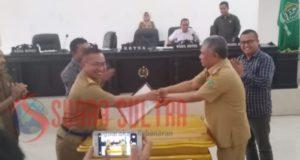 DPRD Konawe Gelar Rapat Paripurna Penyerahan Aset ke Pemda Konawe Kepulauan