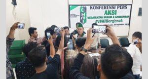 Kecam Penembakan Aktivis di Kendari, PB HMI Gelar Aksi