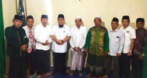Mohon Doa dan Restu, Tony Eka Candra Silaturahmi ke Pengurus Cabang NU Lampung Selatan