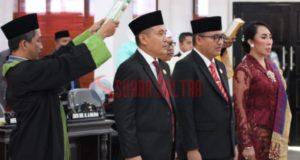 Pimpinan Definitif DPRD Konawe Resmi Diambil Sumpah, H. Ardin Pertahankan Palu Sidang