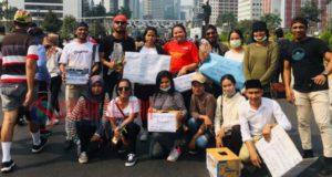 Peduli Gempa Maluku, TEAM 34 Galang Dana di Jakarta