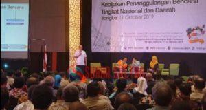 Bupati Konawe Utara Jadi Narasumber PRB Nasional di Bangka Belitung