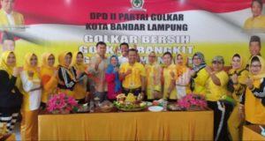 HUT ke-55, Golkar Bandar Lampung Gelar Berbagai Rangkaian Acara