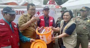 Bantu Korban Banjir Jakarta, PMI-Care Indonesia Distribusikan Hygiene Kit