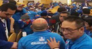 Kongres PAN ke V di Kendari Ricuh dan Saling Lempar Kursi, Tiga Orang Diamankan Polisi