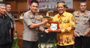 Kapolda Sulsel Kunker di Soppeng, Bupati: Jaga Beliau, Sayangi Dia