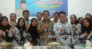 Silaturahmi Bersama Tenaga Honorer Konawe, Ir. Hugua Berikan Harapan Baru