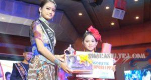 Putri Bungsu Anton Timbang, Vania Nathania Juara pada Ajang Pesona Batik Nusantara Internasional 2020