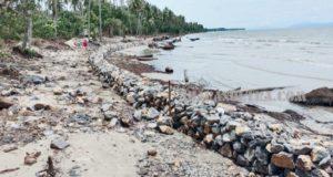 Dituding Tidak Berdayakan Warga, Ini Penjelasan Kontraktor Proyek Rehabilitasi Pengaman Abrasi Pantai Pudonggala Utama