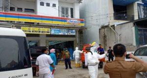 Respon Keresahan Masyarakat, Pemda Konawe Lakukan Penyemprotan Disinfektan