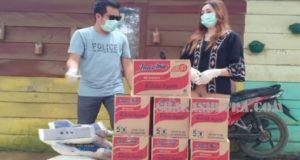 Peduli Sesama, PT R88 Salurkan Bantuan Sembako di Kampung Pemulung
