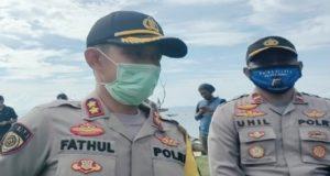 Jelang Idul Fitri, Kapolres Konut Pimpin Langsung Penyemprotan Disinfektan