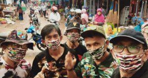 Aksi Peduli Sesama, FKPPI Konawe Bagikan Masker