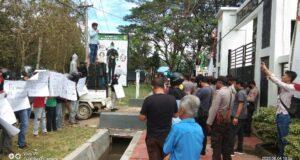 Demo di Kejaksaan dan PN Unaaha, FP3 Sultra Minta Penanganan Perkara PT NBP Tanpa Diskriminasi