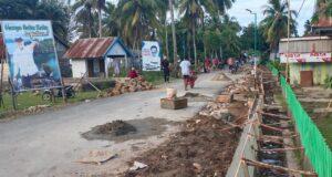 Tingkatkan Infrastruktur, Pemerintah Desa Ulu Sawa Terapkan PKT