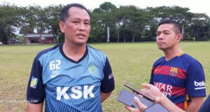 Ferdy Ingin Sepak Bola Sultra Dikenal di Tingkat Nasional