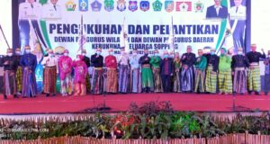 DPW dan DPD KSS di Sultra Dikukuhkan, Ini Pesan Moral Bupati Soppeng