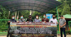 Demo di Kementerian Lingkungan Hidup, KN-APL Pertanyakan Kejelasan Saham Pemda Kolaka di PT CNI