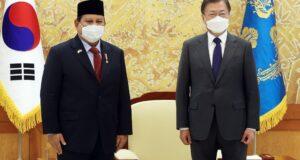 Terima Menhan Prabowo, Ini Harapan Presiden Korea Selatan
