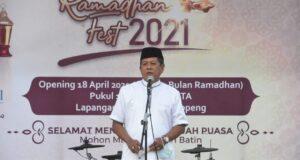 HIPMI Soppeng Gelar Ramadhan Fest, Bupati: Ini Bukti Nyata HIPMI Bangkitkan UMKM di Tengah Pandemi Covid-19