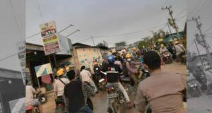 Demo Ricuh Pelaku Usaha Merugi, Pedagang di Kawasan PT VDNI Curhat