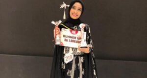 Putri Rektor Unsultra Harumkan Nama Sultra di Kancah Nasional