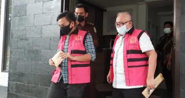 Diperiksa Sebagai Tersangka Korupsi, Direktur dan Bendahara Perusda Konawe Langsung Ditahan