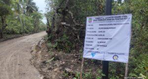 Pemda Konut Gelontorkan Anggaran Puluhan Miliar Untuk Proyek Jalan, Salah Satunya di Desa Panggulawu