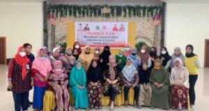 Tingkatkan Kreativitas dan Mutu Produksi, Titin Kery Saiful Konggoasa Buka Pelatihan Dekranasda