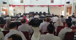 Banggar DPRD Konawe Bersama TAPD Gelar Rapat Pembahasan Rancangan KUA PPAS