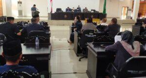 Lima Fraksi DPRD Konawe Setujui Rancangan KUA PPAS Menjadi RAPBD 2022