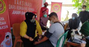 Wujudkan Indonesia Sehat, Binda Sultra Gelar Vaksinasi Massal di Konawe